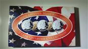2002 Denver Mint State Quarter Collection Uncirc TN, OH, LA, IN, MS